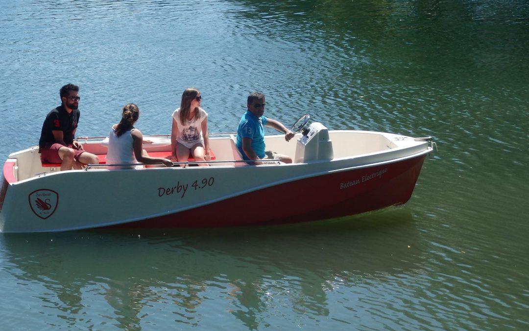 Les bateaux du canal du Loing